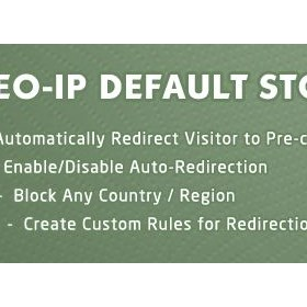 Opencart: GeoIP Default Store | Opencart Multi Store Switcher