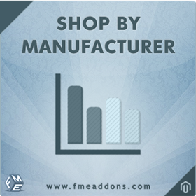 Magento:  Magento Shop by Manufacturer Extension by FME